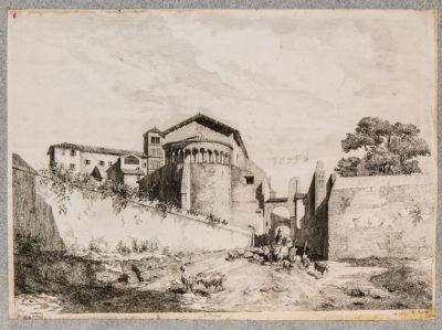 Chiesa di S. Giovanni e Paolo al Celio, abside