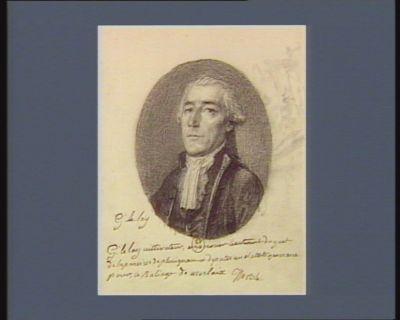 G. Lelay cultivateur et premier lieutenant du guet de la paroisse de Plouignan et deputés au Etats generaux pour le baliage de Morlaix : [dessin]