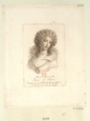 <em>Marie</em> <em>Antoinette</em> Queen of France [estampe]
