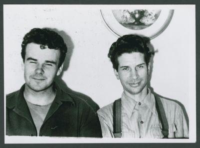 Lu Watters and Turk Murphy