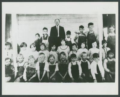 Turk Murphy, grade school class photo