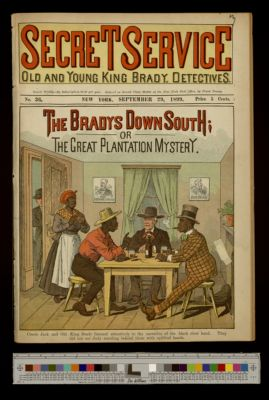 The Bradys Down South; or, The Great Plantation Mystery