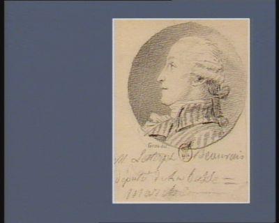 M. Lesterpt de Beauvais député de la Basse Manche : [dessin]