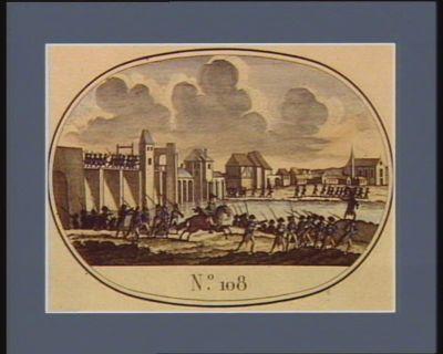 N.o 108 13 juillet. 25 messidor. Déroute de Passy, près de Paris... : [estampe]