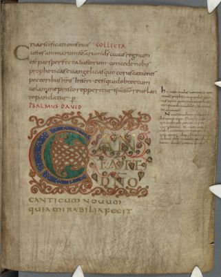 Cambridge, Corpus Christi College, MS 272: The Psalter of Count Achadeus