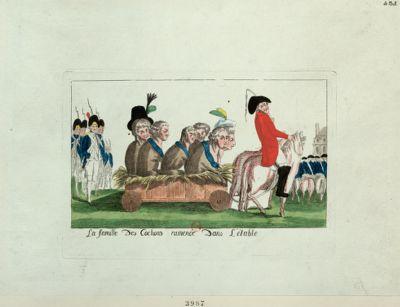 La  Famille des cochons ramenée dans l'étable [estampe]