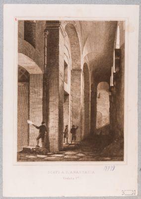 Chiesa di S. Anastasia, resti di costruzioni romane