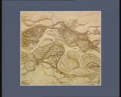 Carte du cours du Rhin prés de Diersheim pour servir <em>à</em> l'intelligence du passage du premier floréal, an 5e... : [estampe]
