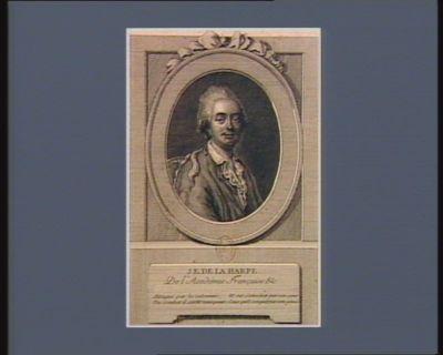 J.E. De la Harpe de l'Académie Française : [estampe]