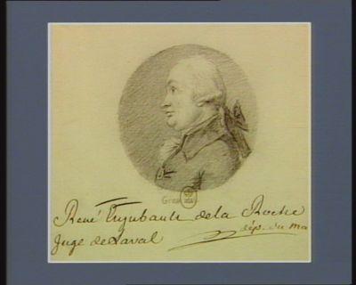 René Enjubault de la Roche juge de Laval député du [Maine] : [dessin]