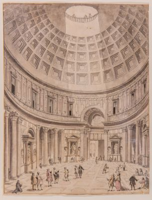 Pantheon, interno