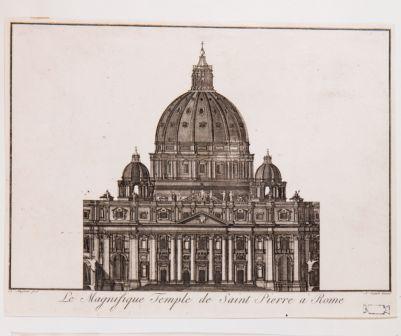 Le Magnifique Temple de Saint Pierre a Rome