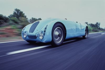 Bugatti Type 57G Tank. Road & Track Salon July 1987