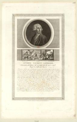Antoine Laurent Lavoisier, fermier général, né à Paris le 16 aout 1743 [estampe]