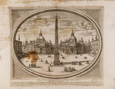 Piazza del Popolo, veduta verso mezzogiorno