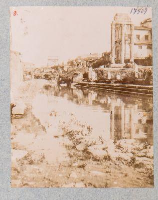 Foro Romano, panorama sud est, inondazione