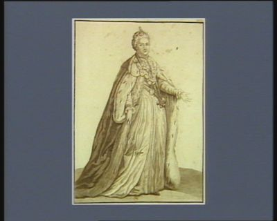 Catherine Alexiewna imperatrice de Russie : nee le 2 mai 1729 : [estampe]