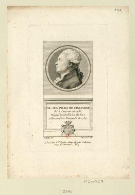 M. de Prez de Crassier né à Crassier en 1733 député de la noblesse de Gex à l'Assemblée nationale de 1789 : [estampe]