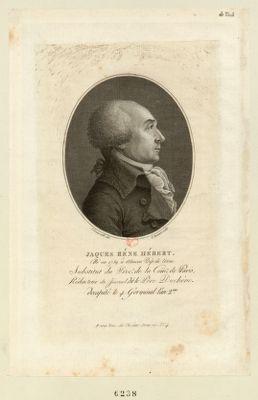 Jaques René Hébert né en 1759 à Alençon dép. de l'Orne, substitut du proc.r de la com.ne de Paris... : [estampe]