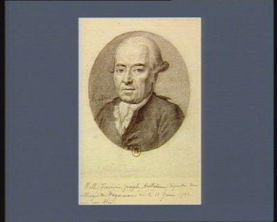 De Hell (François Joseph Antoine) député du bailliage de Haguenau né le 11 juin 1731 : [dessin]