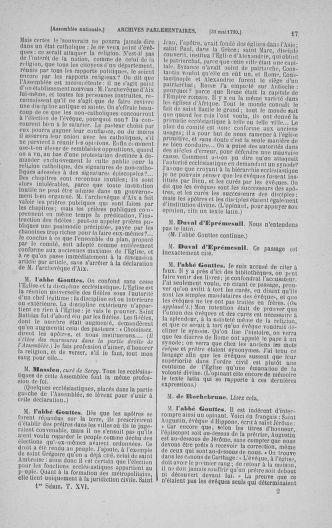 Tome 16 : Du 31 mai au 8 juillet 1790 - page 17