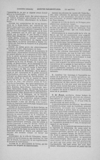 Tome 16 : Du 31 mai au 8 juillet 1790 - page 19