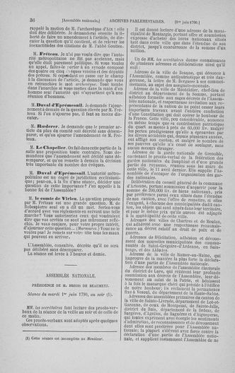 Tome 16 : Du 31 mai au 8 juillet 1790 - page 36