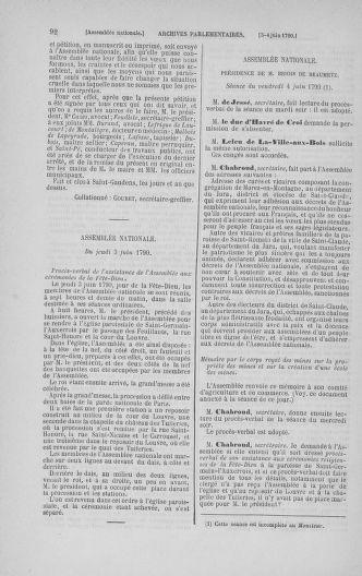 Tome 16 : Du 31 mai au 8 juillet 1790 - page 92