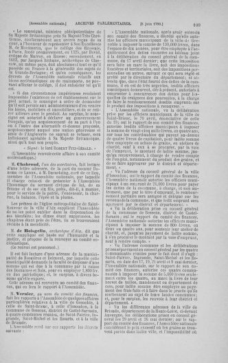 Tome 16 : Du 31 mai au 8 juillet 1790 - page 109