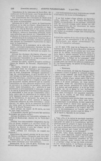 Tome 16 : Du 31 mai au 8 juillet 1790 - page 116