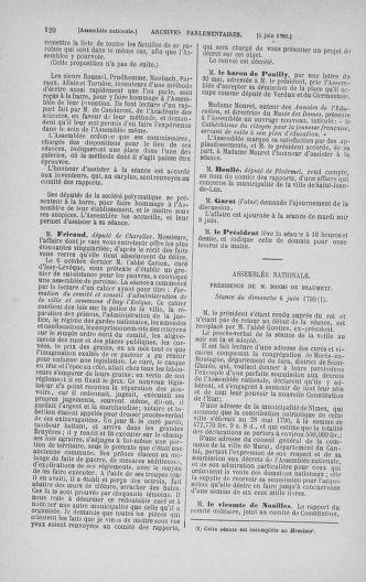 Tome 16 : Du 31 mai au 8 juillet 1790 - page 120