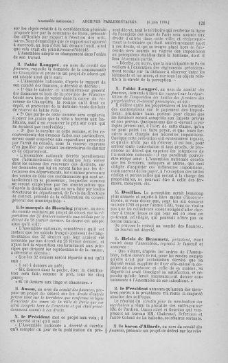 Tome 16 : Du 31 mai au 8 juillet 1790 - page 121