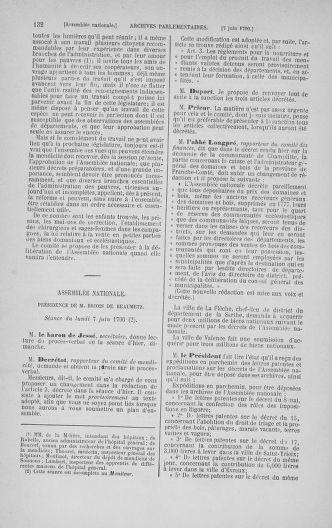 Tome 16 : Du 31 mai au 8 juillet 1790 - page 132