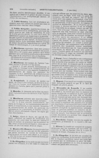 Tome 16 : Du 31 mai au 8 juillet 1790 - page 134