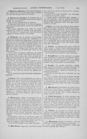 Tome 16 : Du 31 mai au 8 juillet 1790 - page 135