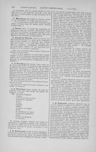 Tome 16 : Du 31 mai au 8 juillet 1790 - page 136