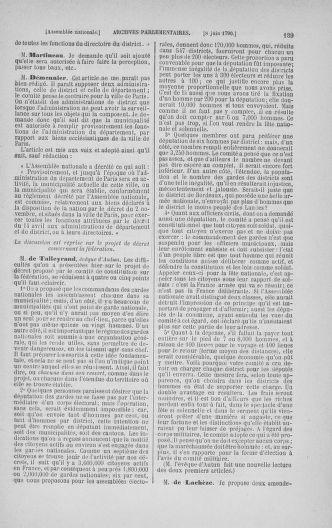 Tome 16 : Du 31 mai au 8 juillet 1790 - page 139