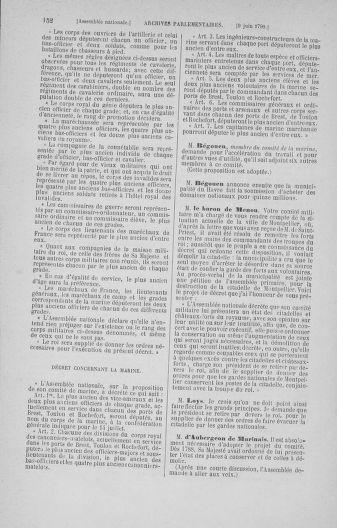 Tome 16 : Du 31 mai au 8 juillet 1790 - page 152