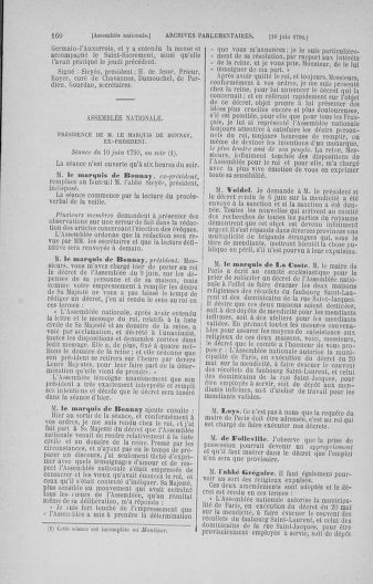 Tome 16 : Du 31 mai au 8 juillet 1790 - page 160