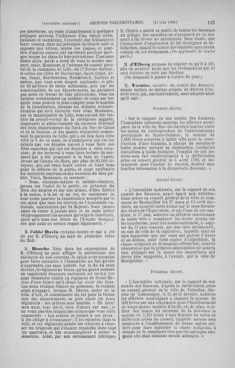Tome 16 : Du 31 mai au 8 juillet 1790 - page 165