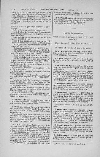 Tome 16 : Du 31 mai au 8 juillet 1790 - page 180