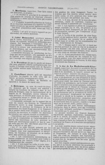Tome 16 : Du 31 mai au 8 juillet 1790 - page 181