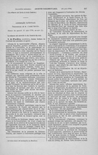Tome 16 : Du 31 mai au 8 juillet 1790 - page 197