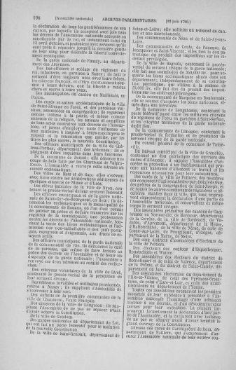 Tome 16 : Du 31 mai au 8 juillet 1790 - page 198