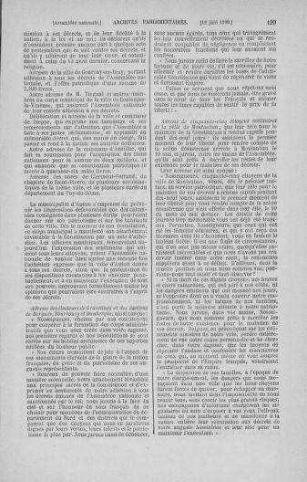 Tome 16 : Du 31 mai au 8 juillet 1790 - page 199