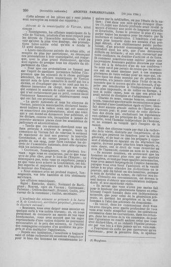 Tome 16 : Du 31 mai au 8 juillet 1790 - page 200