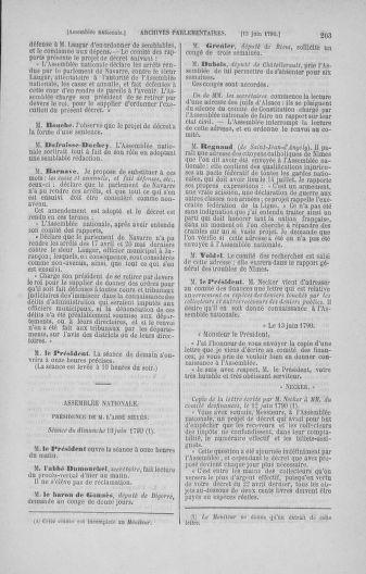 Tome 16 : Du 31 mai au 8 juillet 1790 - page 203