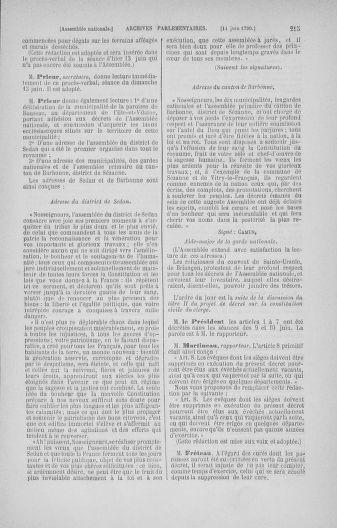 Tome 16 : Du 31 mai au 8 juillet 1790 - page 215