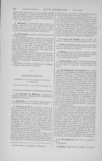 Tome 16 : Du 31 mai au 8 juillet 1790 - page 220