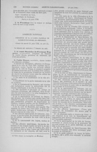 Tome 16 : Du 31 mai au 8 juillet 1790 - page 226